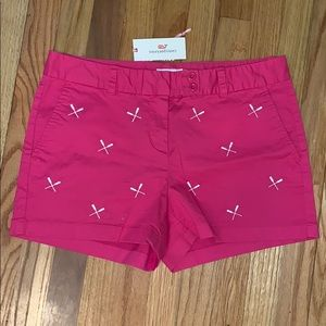 Vineyard Vines Paddle Embroidered Dayboat short!